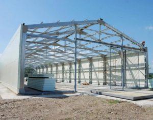 Процесс строительства овощехранилища
