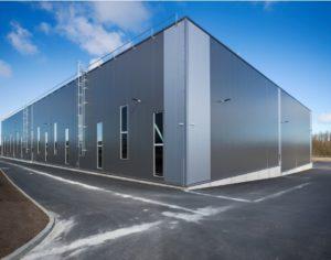 Строительство производственно-складского комплекса фото