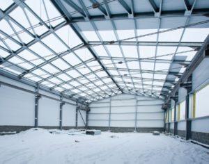 Строительство промышленных складов и зданий фото